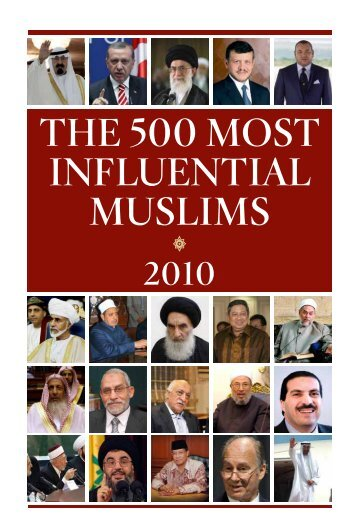 the 500 most influential muslims s 2010 - BLOG OF KNOWLEDGE