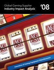 Global Gaming Supplier Industry Impact Analysis - Agem