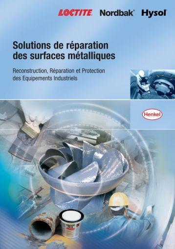 Solutions de réparation des surfaces métalliques - Boudrant