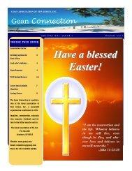 Easter! - The Goan Association of New Jersey