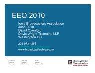 EEO 2010 - Davis Wright Tremaine