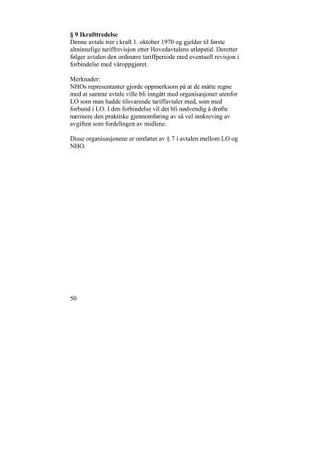 OVERENSKOMSTEN FOR BYGGEINDUSTRIEN - Fellesforbundet
