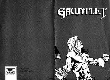 Gauntlet GS Manual - Virtual Apple