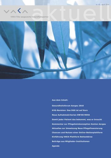 VAKA aktuell | nr. 42 | april 2010