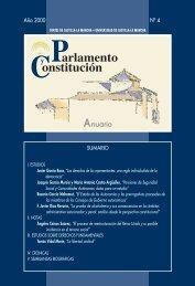 Parlamento y Constitución. Anuario núm. 4 (2000) - Cortes de ...
