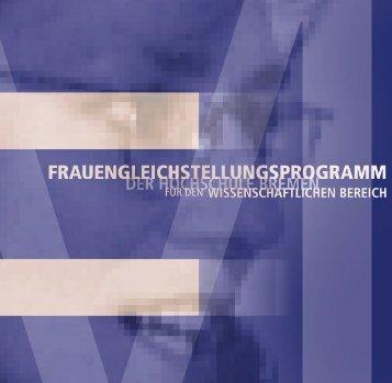 Gleichstellungsrichtlinien HSB - Hochschule Bremen
