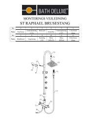 ST RAPHAEL BRUSESTANG - Bath Deluxe