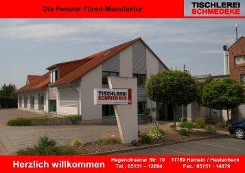 Einbruchschutz von Schmedeke 2010 - Tischlerei Schmedeke GmbH