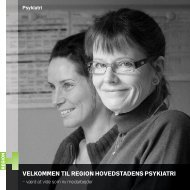 Velkommen til Region Hovedstadens Psykiatri - værd at vide som ny ...