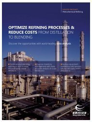 OPTIMIZE REFINING PROCESSES & REDUCE COSTS ... - Workcast