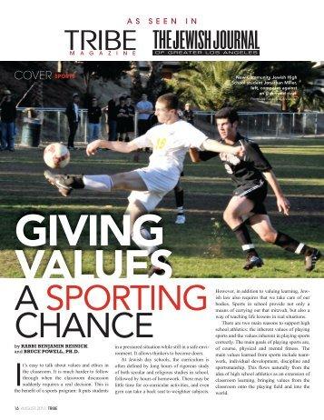Read More - New Community Jewish High School