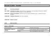 5 juillet 2007 (142 ko) 9 h - edytem - Université de Savoie