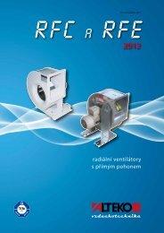 RFC a RFE, radiální ventilátory s přímým pohonem - TD ... - ALTEKO