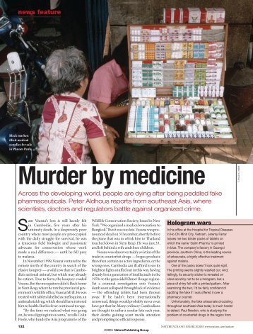 Nature 2005: Murder by Medicines - GPHF