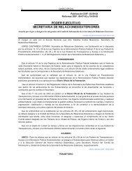 Acuerdo por el que se designa a los integrantes del Comité de ...
