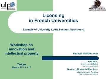 University Louis Pasteur