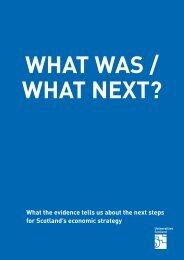 What next - Universities Scotland