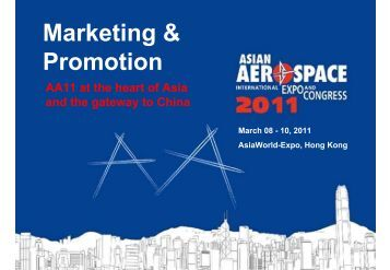 Marketing & Promotion - Ontario Aerospace Council