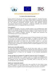 www.pediatric-rheumathology.printo.it 12/2003 1 LA MALATTIA DI ...