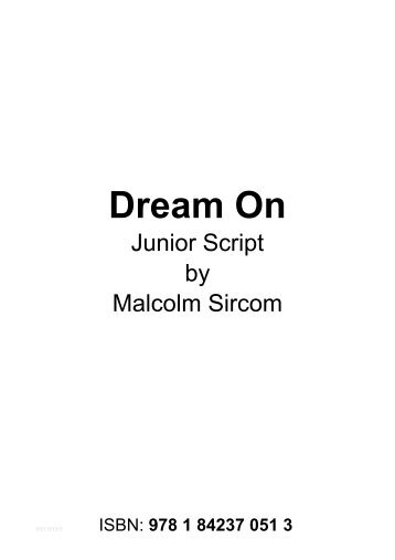 Script Dream On Junior.pdf - Musicline
