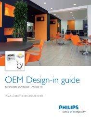 OEM Design-in guide - Philips Lighting