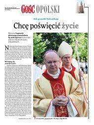 Chcę poświęcić życie - Tygodnik Katolicki - Gość Niedzielny - Wiara