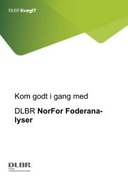 Kom godt i gang med NorFor Foderanalyser - DLBR IT
