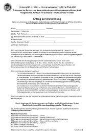 Antrag auf Anrechnung sonderpädagogische Förderung mit ...