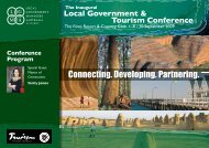 Local Government & Tourism Conference