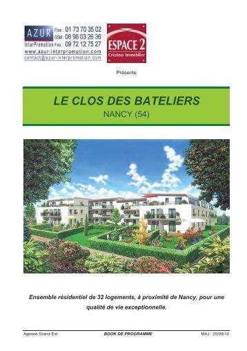 54 Nancy - Le Clos des Bateliers - Azur InterPromotion