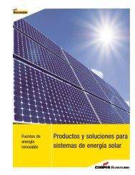 Productos y soluciones para sistemas de energía solar - Cooper ...