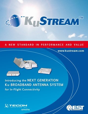 Ku BroadBaNd aNteNNa SyStem - Flightglobal