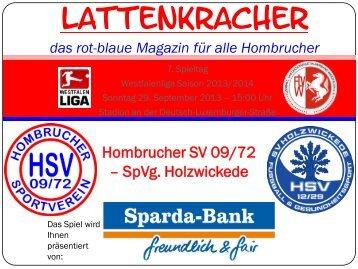 Folie 1 - Hombrucher SV 09/72 eV
