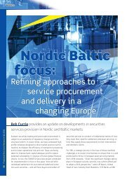 Nordic Baltic focus: - Financial Services Research