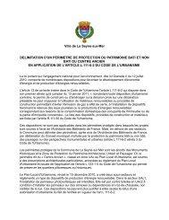 Lire le projet de délibération - La Seyne-sur-Mer