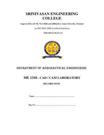 Download Manual - Srinivasan Engineering College