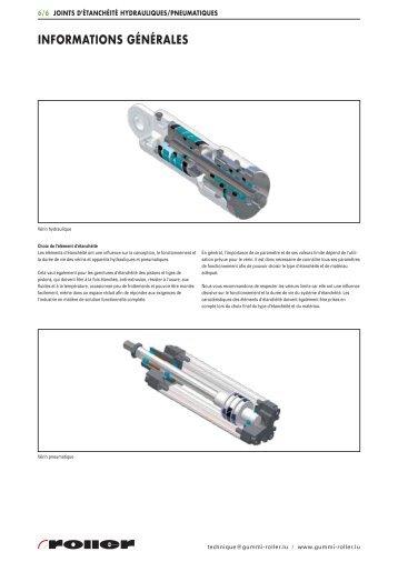 Joints hydrauliques/pneumatiques - Roller Belgium