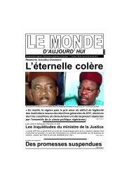 LE MONDE D'AUJOURD'HUI N°08.p65 - Nigerdiaspora