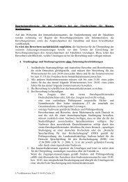 Verfahrenweise bei der Einschreibung für Master-Studiengänge