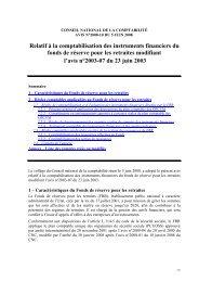 Avis n°2008-10 du 5 juin 2008 du Conseil national de la ...