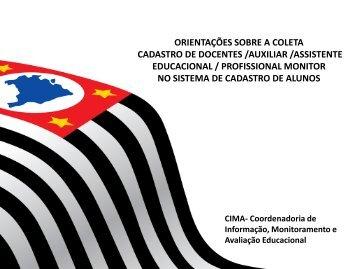 Cadastro de Docentes Censo Escolar 2012 - Diretoria de Ensino ...