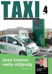 TAXI nr. 4/11 - Norges Taxiforbund
