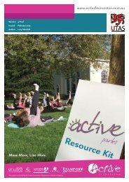 Active Parks Media Release Example - Active Launceston