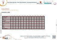 LIGNE 7 FEUILLADES SIBOURG / PARC RELAIS ... - Aix-en-Provence
