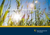 Life's brighter under the sun - Lincoln Financial Group