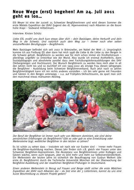 Interview - Mountain Wilderness Schweiz