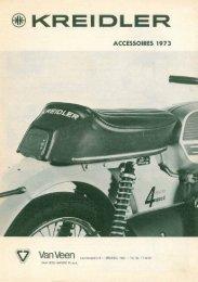 Page 1 ® KREIDLER ACCESSOIRES 1973 'I i ì Lauvansnpleln. B _ ...