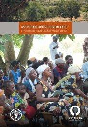 FAO-PROFOR Guide to assess ForestGov_web