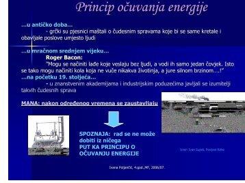 Princip očuvanja energije