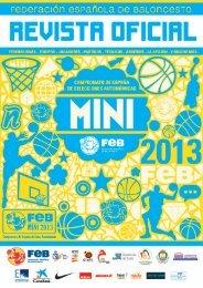 Guía Mini 2013 - Federación Española de Baloncesto